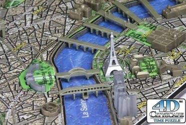 4D Пазл Париж (1100 дет.) фотография 2