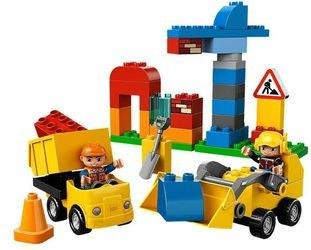 Фото 10518 Моя первая стройплощадка (конструктор Lego Duplo)