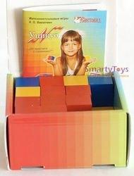 Игры Никитина. Уникуб в картонной коробке (дерево, Световид)  фотография 3