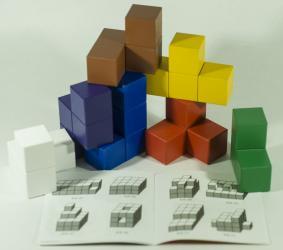 Игры Никитина Кубики для всех деревянные в картонной коробке фотография 4