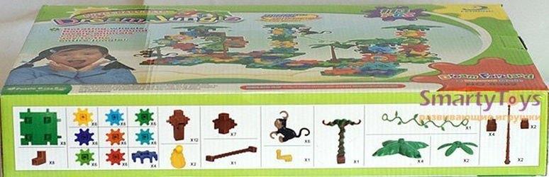 Конструктор с шестеренками Джунгли мечты 113 дет. (8902) фотография 3