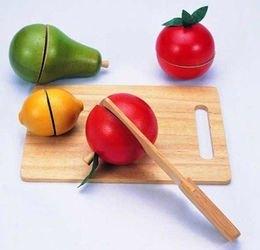 Развивающая игрушкаГотовим фрукты фотография 1