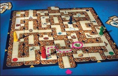 Настольная игра Сумасшедший Лабиринт фотография 3