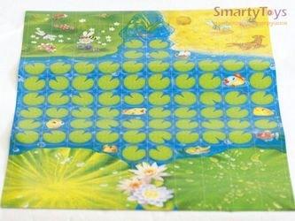 Настольная игра-ходилка Веселые жабки фотография 2