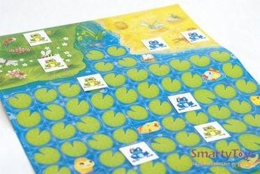 Настольная игра-ходилка Веселые жабки фотография 3