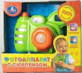 Фото Детский фотоаппарат с сюрпризом