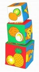 Мягкие кубики Мякиши-башенка Умная мартышка фотография 4