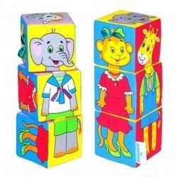 Мягкие кубики Мякиши Собираем по одежке фотография 2