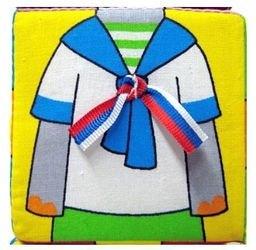 Мягкие кубики Мякиши Собираем по одежке фотография 6
