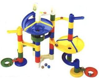 Конструктор-лабиринт с шариками Катиться и крутиться (44 дет,  6813) фотография 2