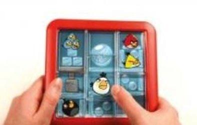 Логическая игра ANGRY BIRDS НАВЕРХУ (красная) фотография 4