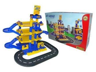 Игрушечный Паркинг JET 4-уровневый с дорогой Wader (40220) фотография 2