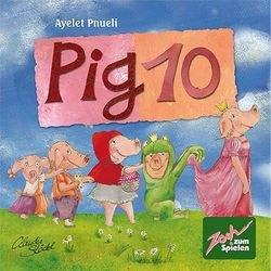 Фото Настольная игра 10 Свинок (Pig 10)