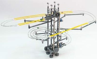 Конструктор-лабиринт с шариками Aero Track (3L) (348 дет, 6982) фотография 1