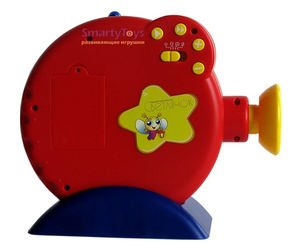 Звуковой диапроектор Светлячок с диафильмом Красная шапочка без пульта фотография 1