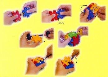 Конструктор CLICS 4 в 1 (125 деталей,  М125) фотография 2