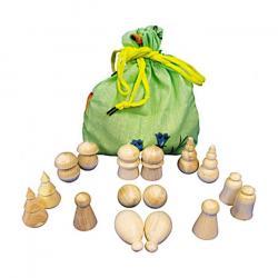 Деревянная игрушка Волшебный мешочек фигурный (Д-140)  фотография 2