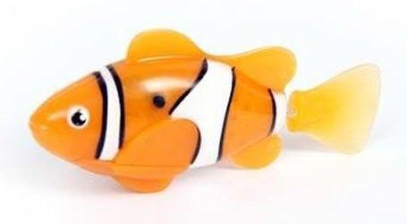 Фото Игрушка для ванной Robofish электронная рыбка Клоун (оранжевая)