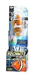 Игрушка для ванной Robofish электронная рыбка Клоун (оранжевая) фотография 2