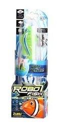Игрушка для ванной Robofish электронная рыбка Клоун (зеленая) фотография 2