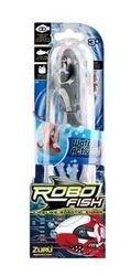 Игрушка для ванной Robofish электронная рыбка Акула (серая) фотография 2