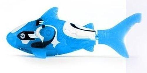 Фото Игрушка для ванной Robofish электронная рыбка Акула (голубая)