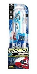 Игрушка для ванной Robofish электронная рыбка Акула (голубая) фотография 2
