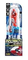 Игрушка для ванной Robofish электронная рыбка Акула (красная) фотография 2