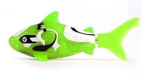 Фото Игрушка для ванной Robofish электронная рыбка Акула (зеленая)
