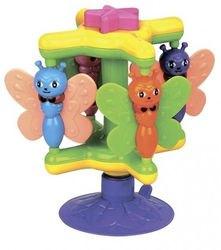 """Фото Развивающая игрушка для малышей на присоске """"Пчелки на карусели"""""""