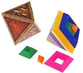 Пирамидка конструктор Ромбообразная фотография 2