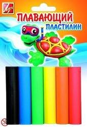 Фото Пластилин Плавающий 6 цветов (22С 1430-08)