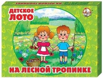 """Фото Детское лото """"На лесной тропинке"""" (00251)"""
