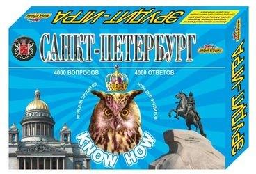 """Фото Настольная игра викторина """"Санкт-Петербург"""" Know How"""