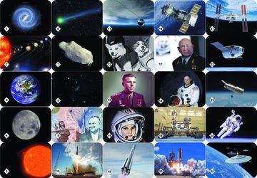 Настольная игра Мемо Космос фотография 2