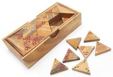 Фото Настольная игра Треугольное домино (GP443D)
