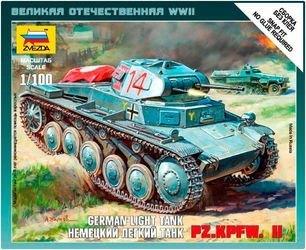 """Фото Сборная модель Немецкий танк """"Т-2"""" (6102)"""