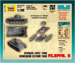 Сборная модель Немецкий танк Т-2 (6102) фотография 2