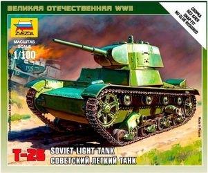 """Фото Сборная модель Советский танк """"Т-26"""" (6113)"""