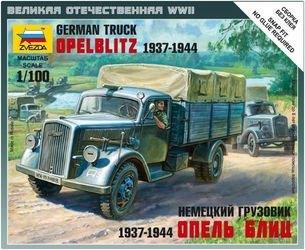 """Фото Сборная модель Немецкий грузовик """"Опель-Блиц"""" (6126)"""