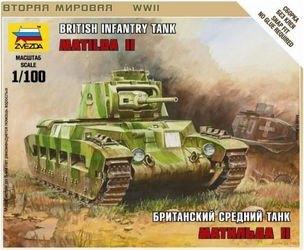 """Фото Сборная модель Британский танк """"Матильда"""" Мк-2 (6171)"""