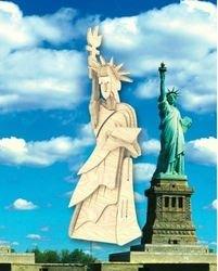 Фото Сборная деревянная модель Статуя Свободы (П031а)
