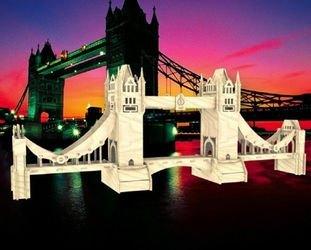 Фото Сборная деревянная модель Тауэрский мост (П055)
