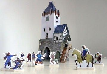Фото Сборная модель из картона Дозорная башня