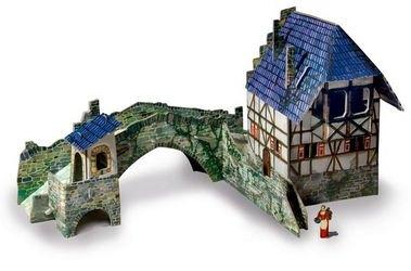 Фото Сборная модель из картона Мост