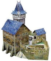Сборная модель из картона Охотничий замок (294) фотография 2