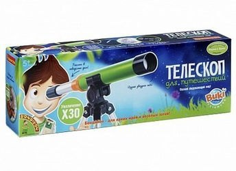 Фото Детский телескоп для путешествий. Французские опыты Науки с Буки