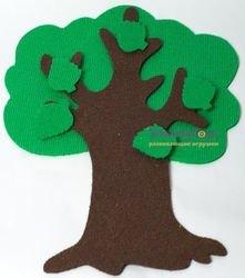 Игры из ковролина Маленькое дерево фотография 5