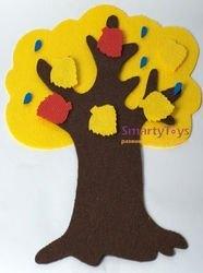 Игры из ковролина Маленькое дерево фотография 6