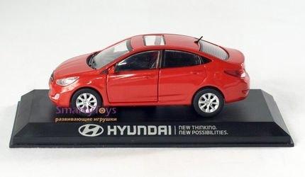 Коллекционная модель Hyundai Solaris/Accent 1:38 (PS-01) фотография 2